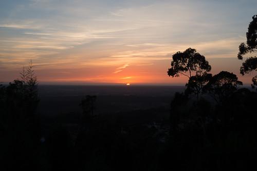 Sundown at Serra do Buçaco