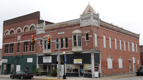 Downtown Bloomfield, IN