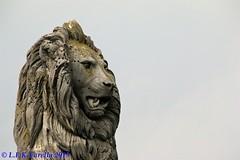Leão da Baviera e farol