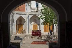Medresy w centrum Buchary