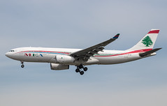 EGLL - Airbus A330-243 - Middle East Airlines - OD-MEC
