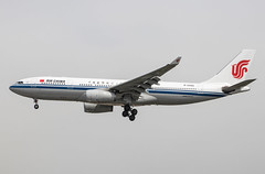 EGLL - Airbus A330-243 - Air China - B-6092