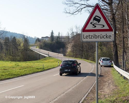 NEC340 Letzistrasse Roadbridge over the Necker River, Luetisburg - Ganterschwil, Canton of St. Gallen, Switzerland