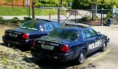 Milton Police Ford Crown Victorias