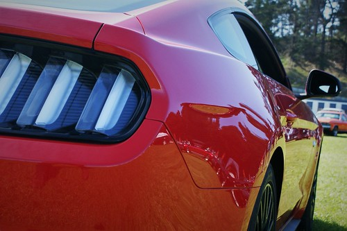 2016 Ford Mustang 5.0 Fastback - detail