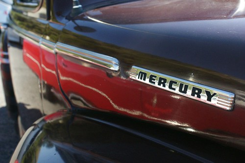 1948 Ford Mercury - detail