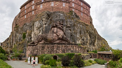 Lion de Belfort en panorama