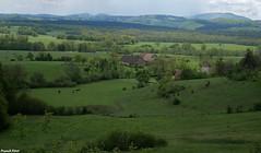 Vue sur le Village de Coulans- Sur- Lison