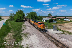BNSF 8471 | EMD SD70ACe | BNSF Thayer South Subdivision