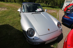 Porsche 911 type 993 cabrio - Photo of Soucht