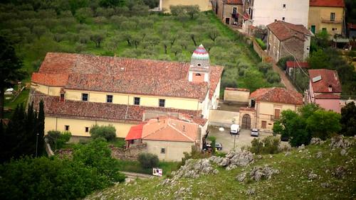 Veduta sul Convento si S: Francesco