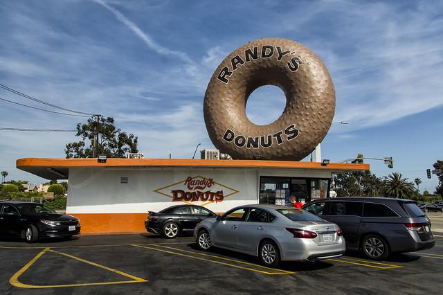 Randy's giant donut