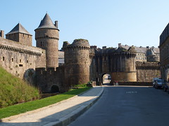Afueras del Castillo de Fougéres (Bretaña) - Photo of Beaucé