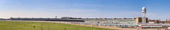 Aerial view Airport Tempelhof Pano Berlin