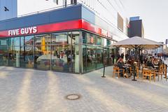 Five Guys Restaurant in Berlin