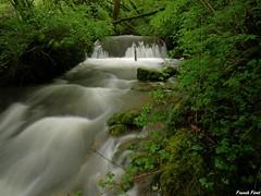 Cascade sur la Furieuse en amont du Martinet - Jura