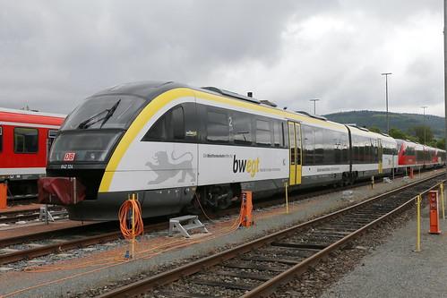 DB Regio 642 124-1 Bundesgartenschau Heilbronn, Miltenberg