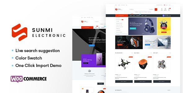 Sumi v1.1.5 - Electronics WordPress Theme for WooCommerce (RTL supported)