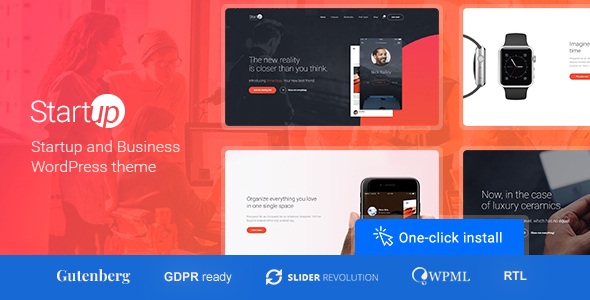 Startup Company v1.0.9 - Theme for Business & Technology