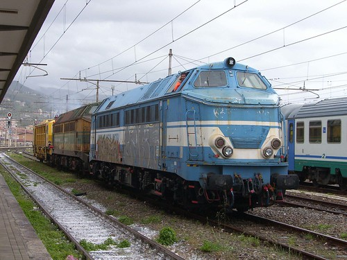 Former SNCB Class 51's at Paola, 6th May 2019