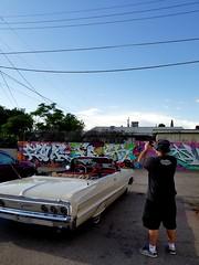 Albuquerque graffiti Pesa Zone 1964 Impala Convertible