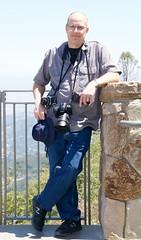Ian on Mt Umunhum DSC_0144