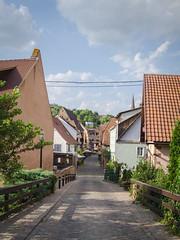Rue des pèlerins - Photo of Bœrsch