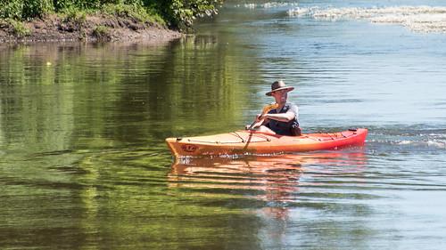 Indiana Jones circumnavigates the Dordogne