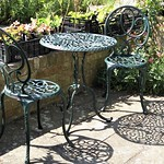 Shadows of Garden Furniture by Sue Ould
