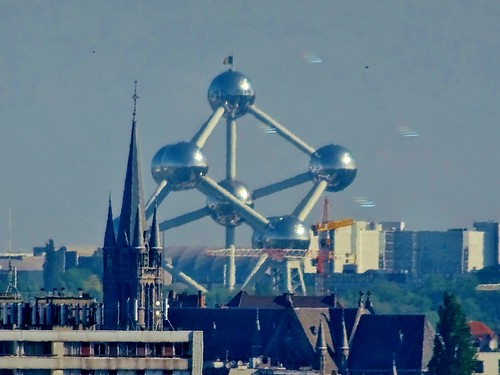 Brussels from Pullman Midi, Belgium