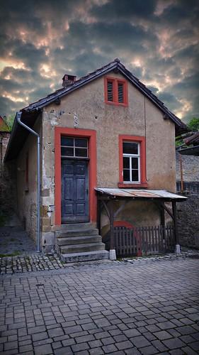 Altes Haus neben dem Spitalkeller in Aub (Unterfranken)