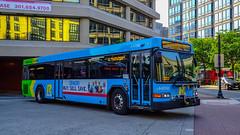 Montgomery Transit County Ride On 2016 Gillig Low Floor Adbantage Diesel #44016D