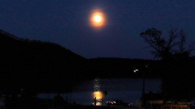 Moonrise Over the Housatonic
