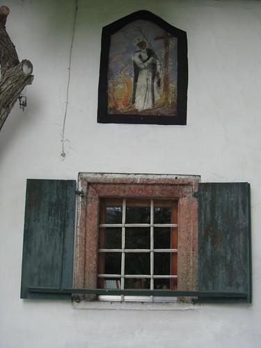 20110907 22 313 Jakobus Fensterladen Gitter Heiliger Bild
