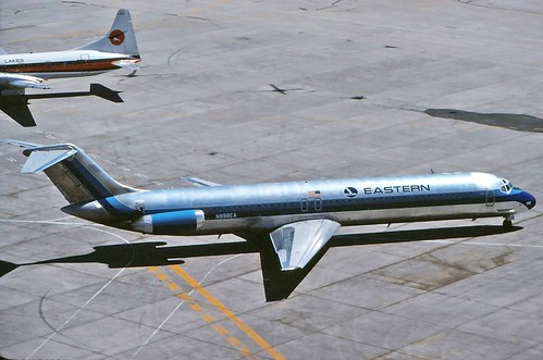 N998EA EASTERN DC-9-51 at CYYZ