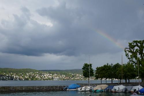 Regenbogen - Hafen Mönchhof, Kilchberg