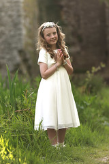 Hayley's first holy Communion