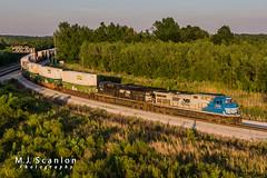 NS 4000   GE AC44C6M   NS Memphis District West End