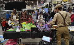 Musical Robots at the Maker Faire.