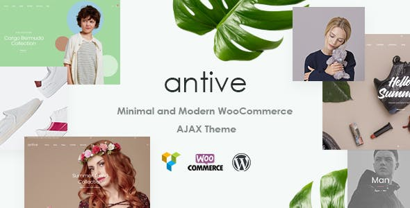 Antive v1.5.1 - Minimal and Modern WooCommerce AJAX Theme (RTL Supported)