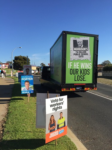 Polling Day Booth - Clarkson, WA