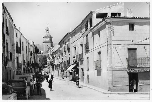 Huete (Cuenca) : calle de la Plaza