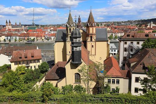 Kirche St. Burkard - Würzburg