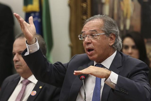 Guedes e sua equipe não apresentaram a planilha de cálculos para demonstrar a economia de um trilhão e duzentos milhões de reais - Créditos: José Cruz/Agência Brasil
