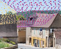 Bunting at  Saint Cyprien - Photo of Marnac