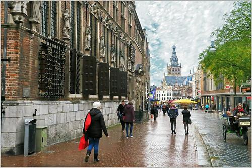 Het oude Stadhuis, Burchtstraat, Nijmegen, Nederlands