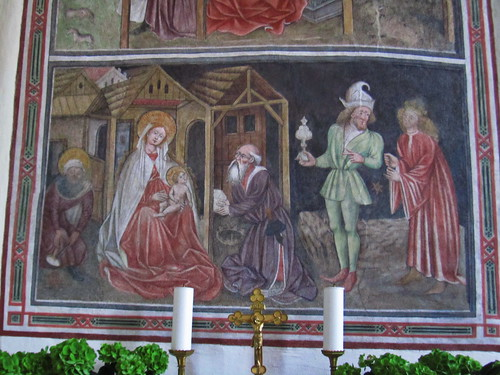 20110910 25 377 Jakobus Terfens Kirche Weihnachten Verkündigung Maria Bild