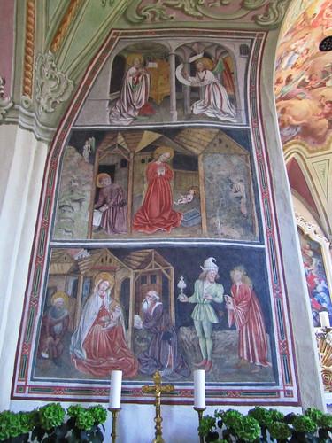 20110910 25 369 Jakobus Terfens Kirche Weihnachten Verkündigung Maria Bild