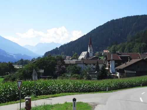 20110910 25 361 Jakobus Terfens Berge Wald Kirche Turm