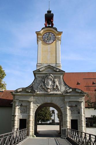 Ingolstadt: Portal zum Neuen Schloss